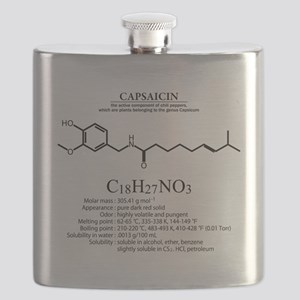 capsaicin: Chemical structure and formula Flask