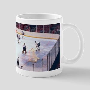 Vintage Ice Hockey Match Mugs
