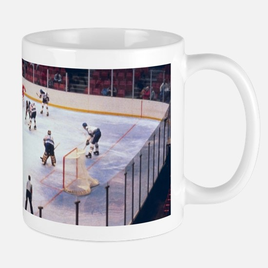 Vintage Ice Hockey Match Mugs