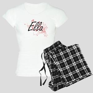 Ella Artistic Name Design w Women's Light Pajamas
