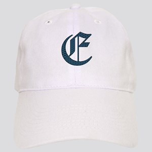 E monogram old english Hat