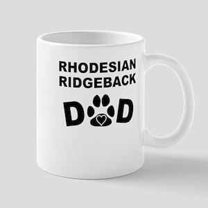 Rhodesian Ridgeback Dad Mugs