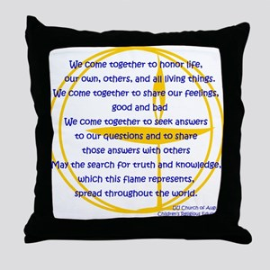 We_Come_Together Throw Pillow