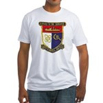 USS HAMUL Fitted T-Shirt