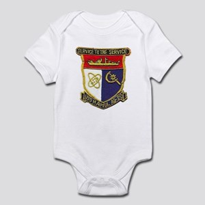 USS HAMUL Infant Creeper