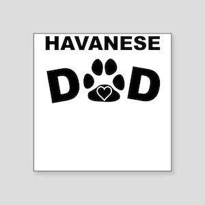 Havanese Dad Sticker