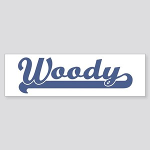 Woody (sport-blue) Bumper Sticker