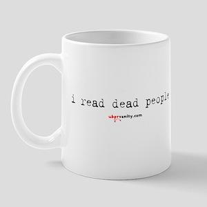 I Read Dead People Mug