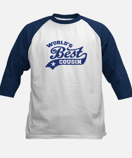World's Best Cousin Kids Baseball Jersey