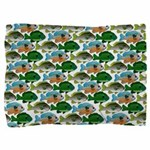 School of Sunfish fish Pillow Sham