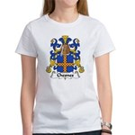 Chesnes Family Crest Women's T-Shirt