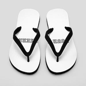 Personalised Template Flip Flops