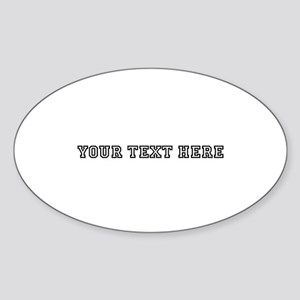 Personalised Template Sticker