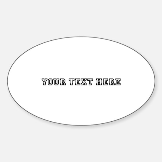 Personalised Template Decal