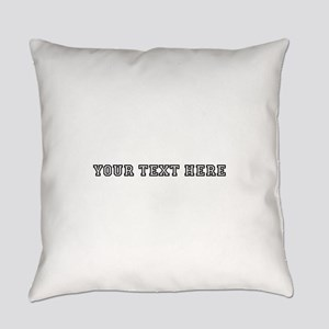 Personalised Template Everyday Pillow
