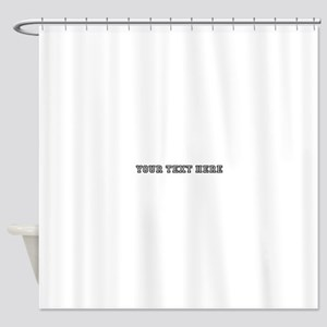 Personalised Template Shower Curtain