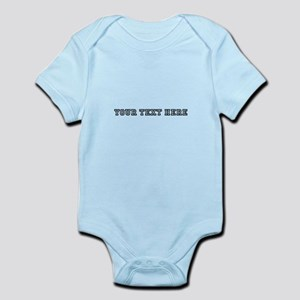 Personalised Template Body Suit