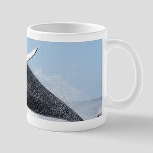Humpback Whale Jumping High Mugs
