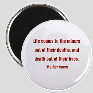 Mother Jones Magnet