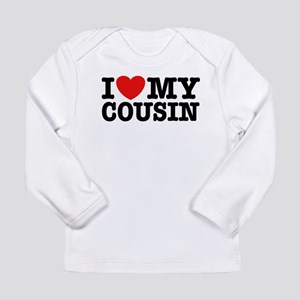 I Love My Cousin Long Sleeve Infant T-Shirt