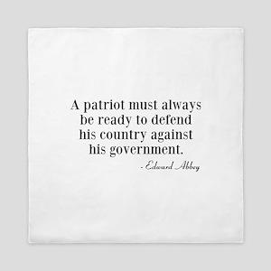 A Patriot Queen Duvet