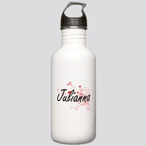 Julianna Artistic Name Stainless Water Bottle 1.0L