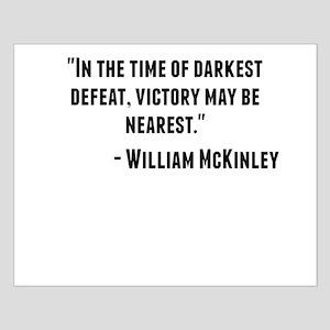 William McKinley Quote Posters