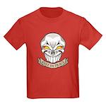 Rest in Peace Skull Tattoo Kids Dark T-Shirt