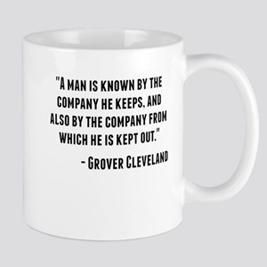 Grover Cleveland Quote Mugs