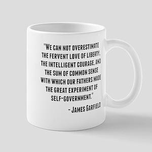 James Garfield Quote Mugs