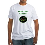 abduction t-shirts Fitted T-Shirt