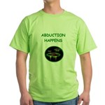 abduction t-shirts Green T-Shirt