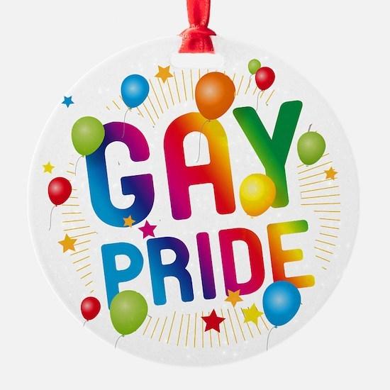 Gay Pride Celebration Ornament