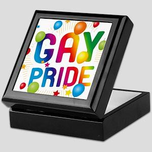 Gay Pride Celebration Keepsake Box