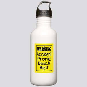 Warning Accident Prone Stainless Water Bottle 1.0L