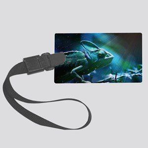 Chameleon Large Luggage Tag