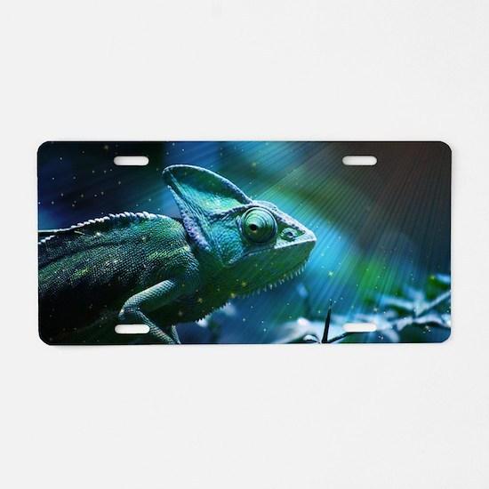 Chameleon Aluminum License Plate