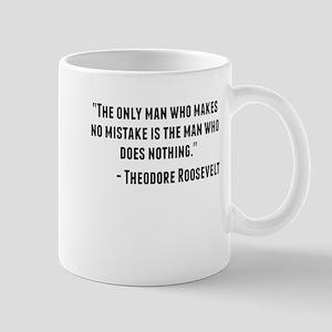 Theodore Roosevelt Quote Mugs
