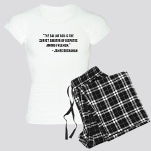 James Buchanan Quote Pajamas