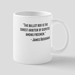 James Buchanan Quote Mugs