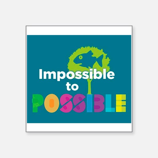 Impossible to possible Fish in a Tree Sticker