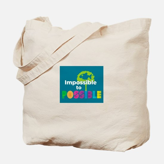 Impossible to possible Fish in a Tree Tote Bag