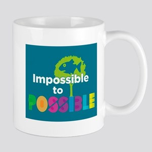 Impossible to possible Fish in a Tree Mugs