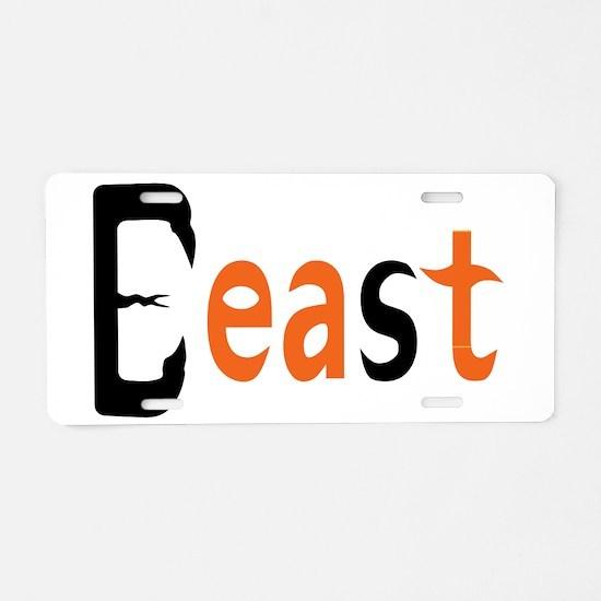 Beast Aluminum License Plate