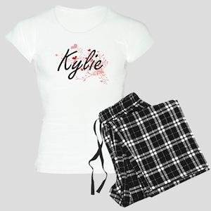 Kylie Artistic Name Design Women's Light Pajamas