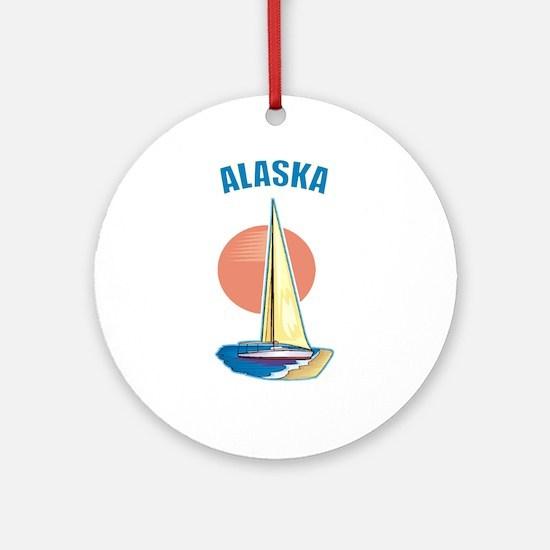 Alaska Ornament (Round)