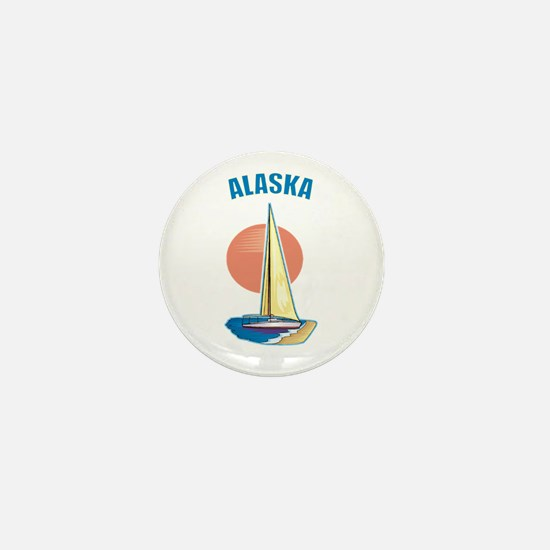 Alaska Mini Button