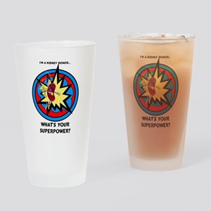Super Kidney Donor Drinking Glass