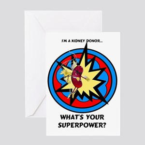 Kidney donor greeting cards cafepress super kidney donor greeting card m4hsunfo