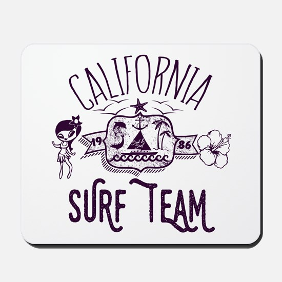 California Surf Team Mousepad